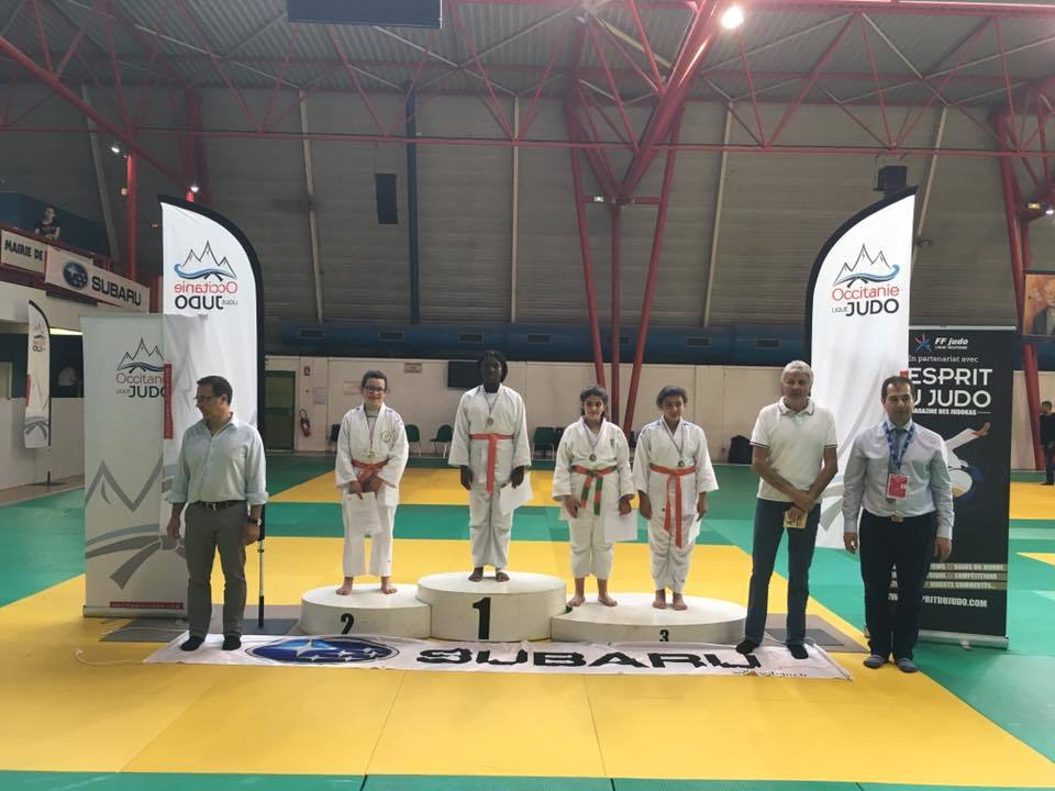 Calendrier Judo Occitanie.Ileona Championne Occitanie Judo Club Saint Jory
